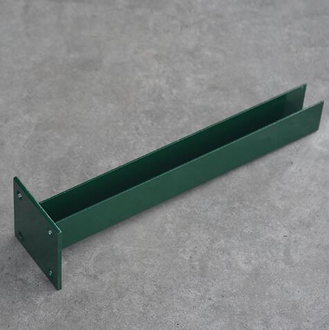 porfestett zöld lecsavarozható talp előnézet